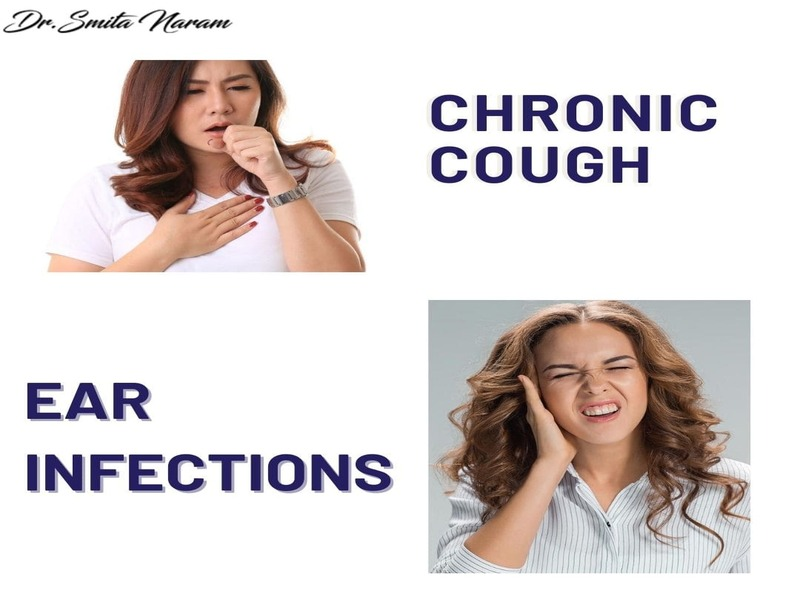 Throat Irritations & Ear Infections, Chronic coughs