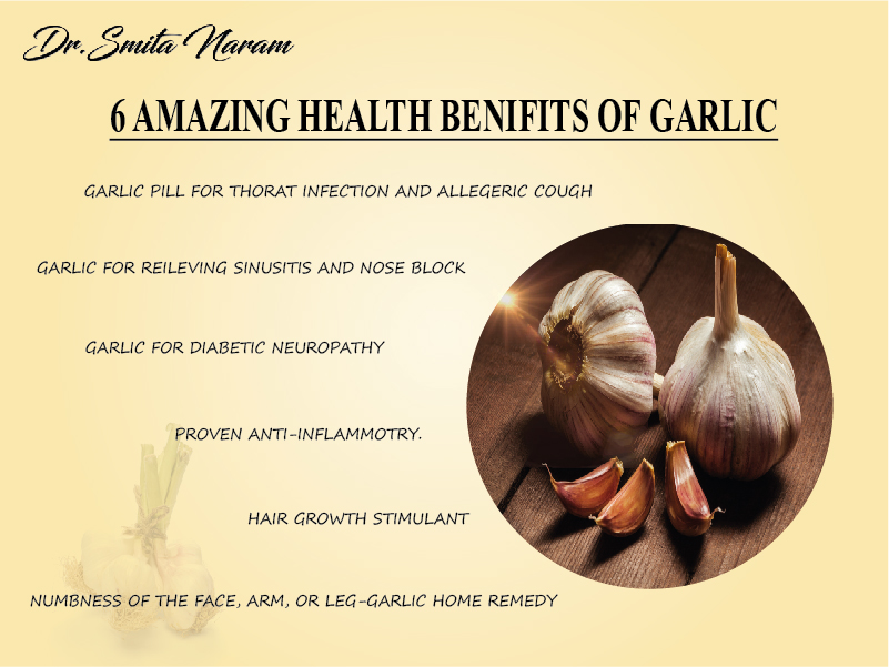 6 Amazing Health Benefits Of Garlic