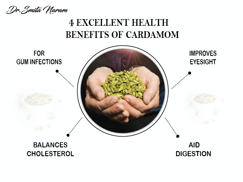 4 excellent Health Benefits of Cardamom